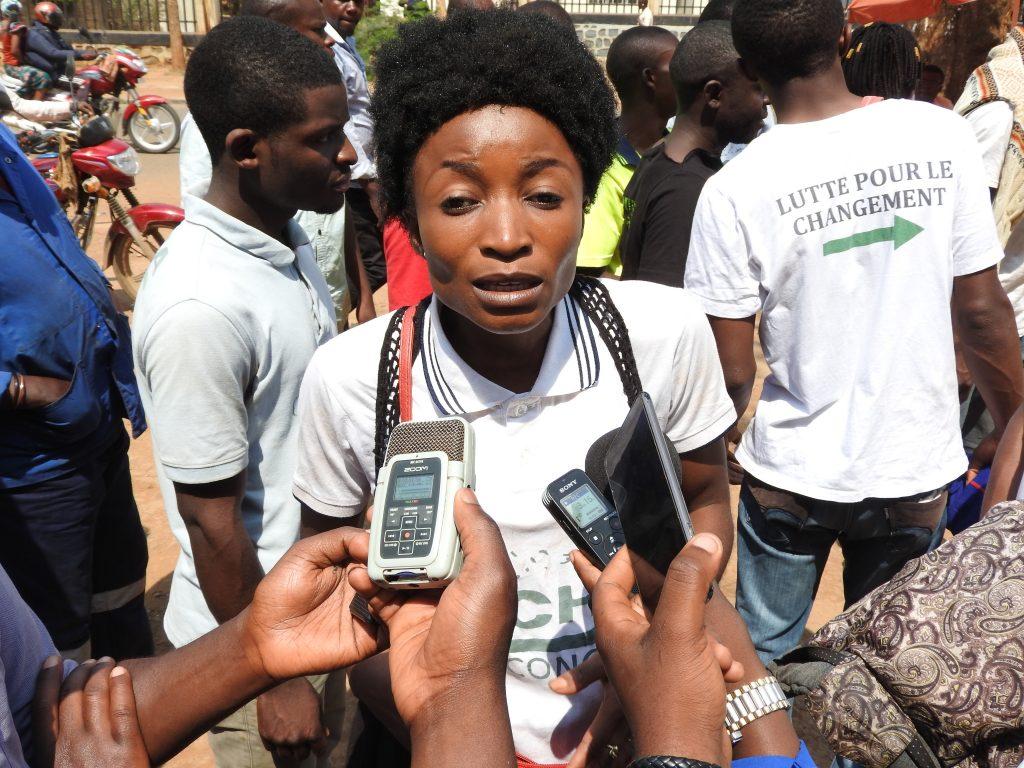 Bukavu : La Lucha dispersée par la police devant la Ceni ce lundi