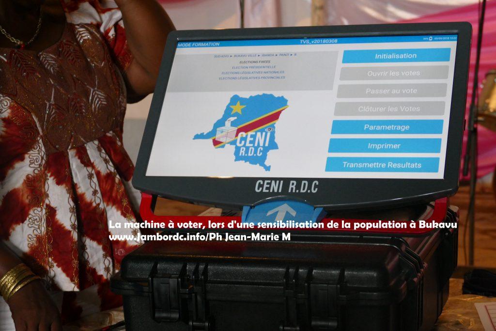 Bukavu : L'enterrement symbolique de la machine à voter remis au vendredi 21 septembre (Me Kester)