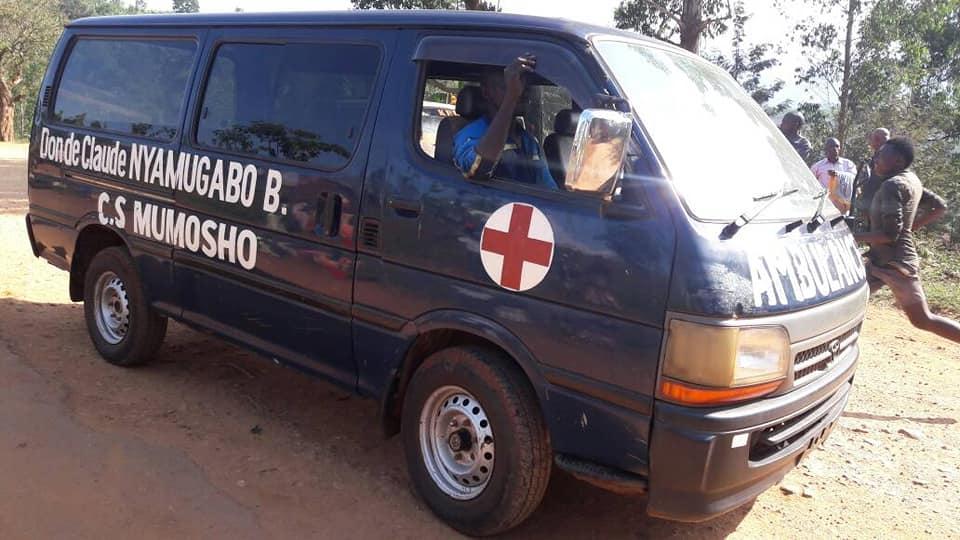 """Me Claude Nyamugabo a remis cette ambulance à Mumosho il y a 6 ans"", Aaron Basimarha"