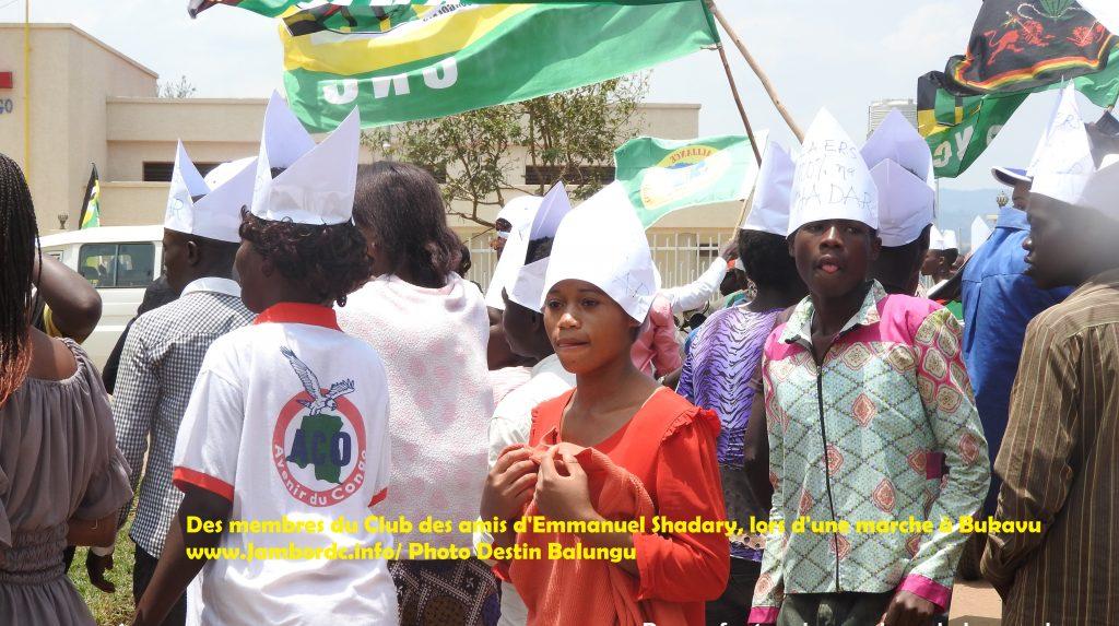 Bukavu : Les amis d'Emmanuel Ramazani ont encore marché