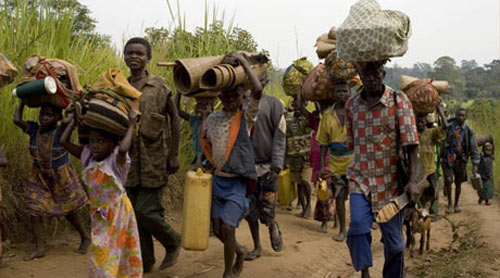 Walungu : Déplacements massifs des populations à Nzibira, la société civile crie au secours
