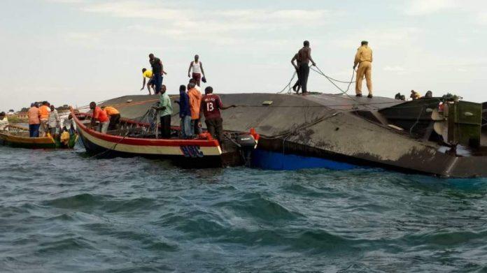 Naufrage d'un ferry sur le lac victoria: le bilan s'alourdit à 218 morts(autorités)