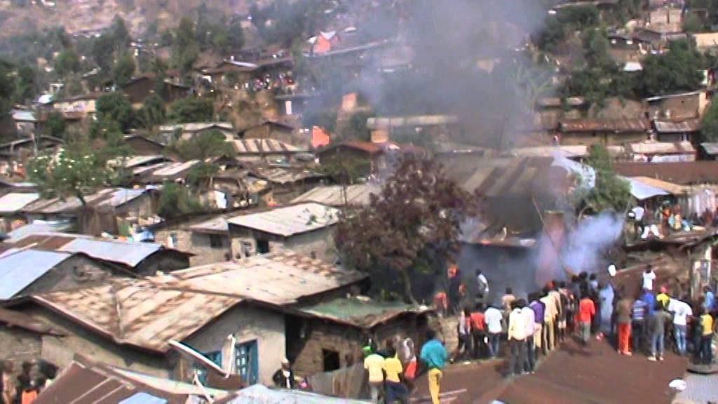Urgent: Des maisons en flamme maintenant à côté du marché Limanga à Bukavu(témoin)