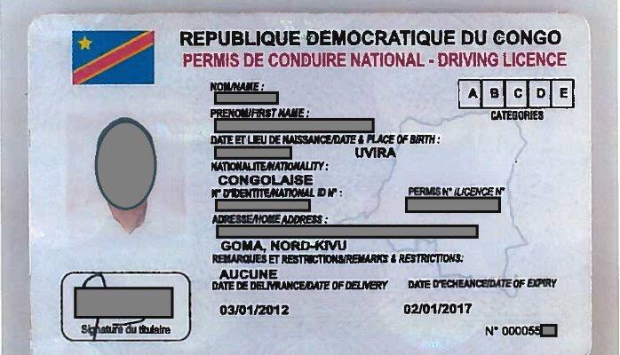 Sud-Kivu : 12$ de plus sur l'acquisition d'un tenant lieu de permis de conduire, l'ACCO et le ministère provincial de transport à couteaux tirés