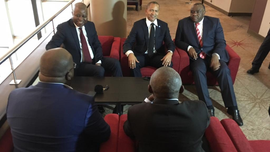 """Présidentielle 2018 en Rdc: L'Anc redoute un possible """"chaos"""" après un tête-à-tête avec l'opposition congolaise à Johanesburg"""