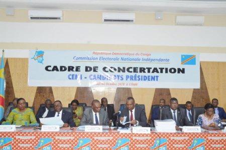 Kinshasa: Ce que la Ceni et les candidats à la présidentielle se sont dits jeudi