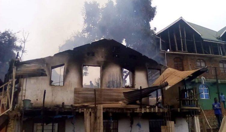 Bukavu: Première nuit à la belle étoile des sinistrés de l'incendie de Pajeco