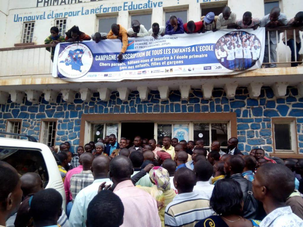 Bukavu: La délégation des enseignants ressort du bureau du gouverneur avec des promesses(situation en cours)
