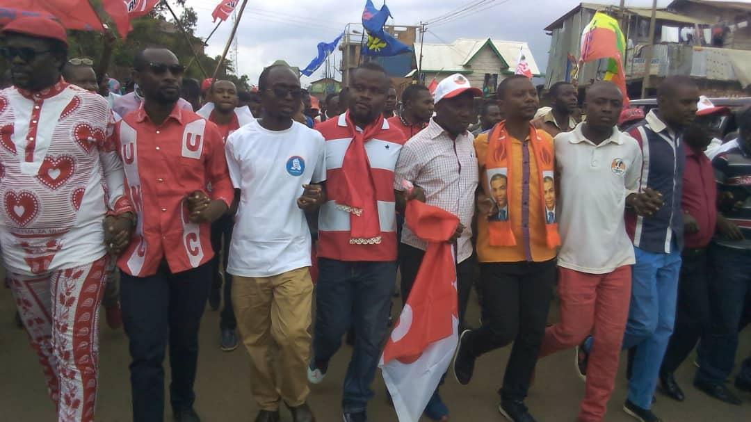 Direct-Bukavu: Les manifestants de l'opposition sont arrivés à Nyawera