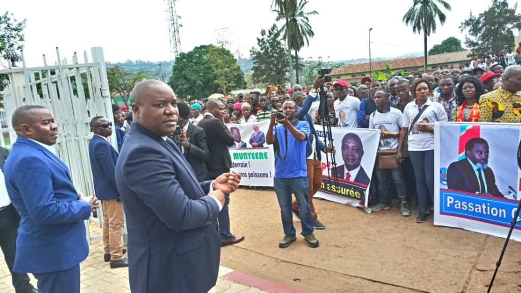 Sud Kivu: La cellule de communication du Gouvernorat de province dément la dispersion de la marche de soutien à Shadari ce mardi
