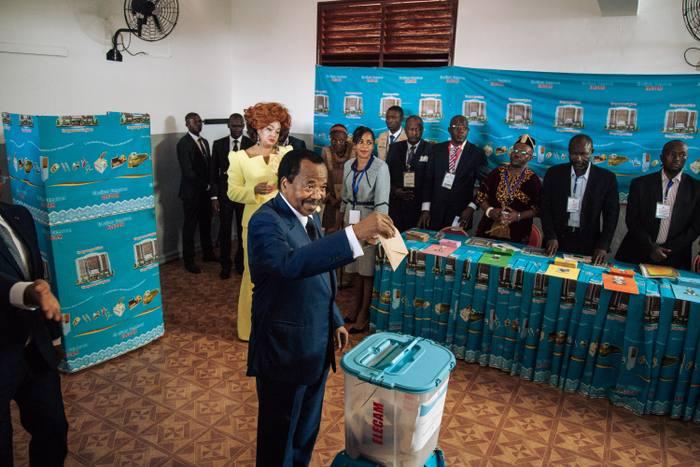 Présidentielle au cameroun: Paul Biya réélu pour un 7ème mandat avec 71,28%