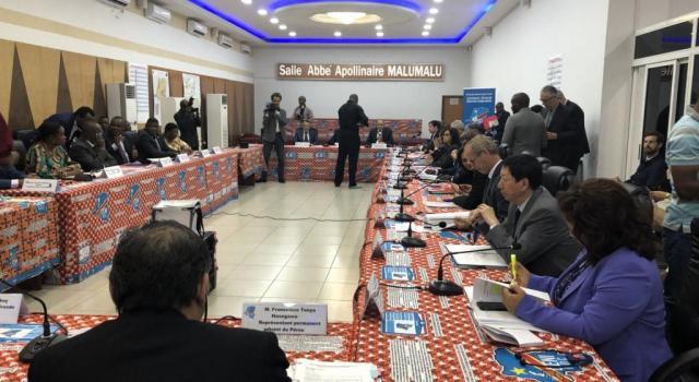 Rdc : Corneille Naanga rassure la délégation de l'Onu sur l'avancement du processus électoral