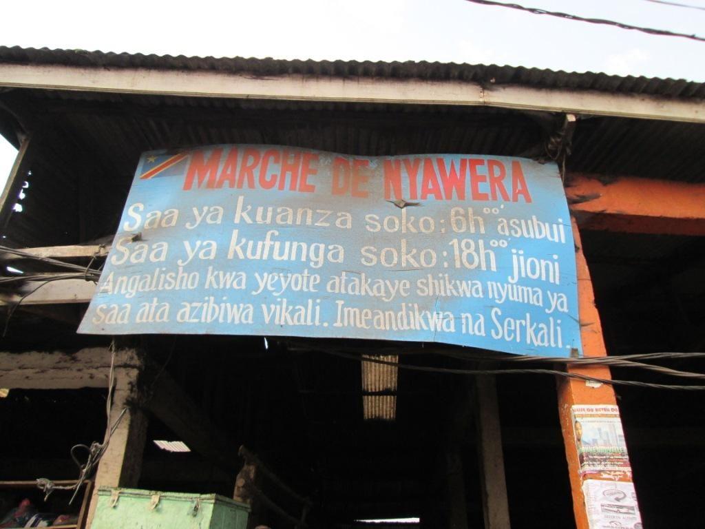 Bukavu: La lutte contre l'insalubrité au marché central de Nyawera relancée