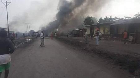 RDC : Kabila décrète trois jours de deuil national après l'incendie d'un camion-citerne à Mbuba au Kongo Central