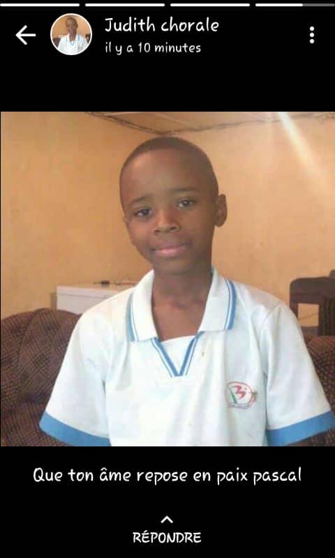 Bukavu : Un enfant meurt subitement dans sa chambre sur l'avenue Pesage