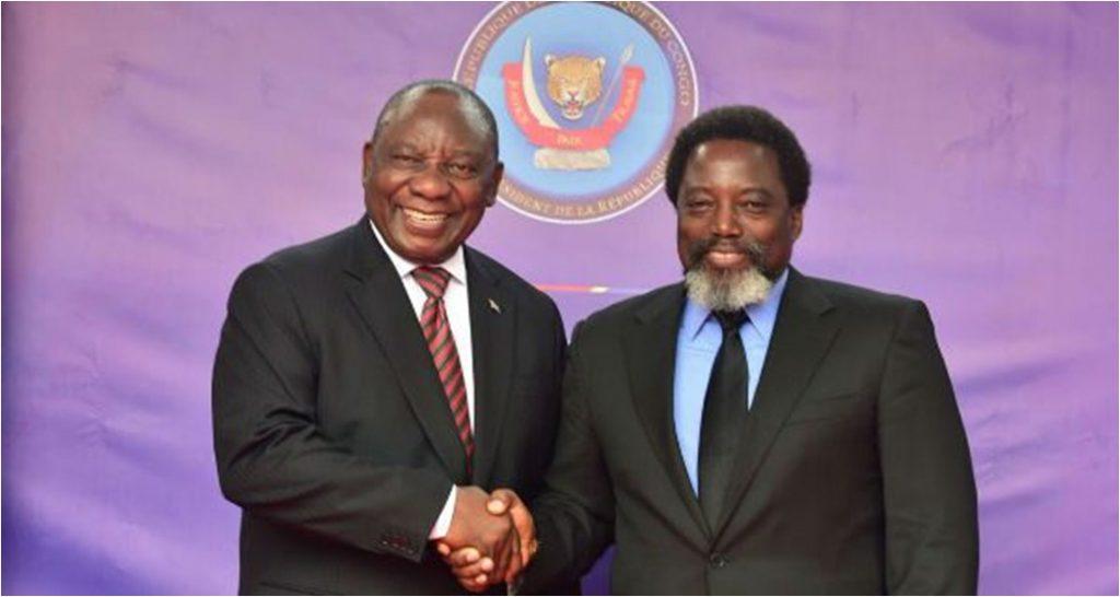 Diplomatie : Le président sud-africain annule sa venue à Kinshasa ce mardi 16 ocotbre