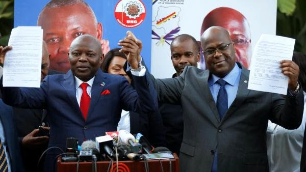 Rdc: L' Udps et l'Unc mobilisent à Kinshasa pour le retour du duo FélixTshisekedi-Vital Kamerhe ce mardi 27 novembre