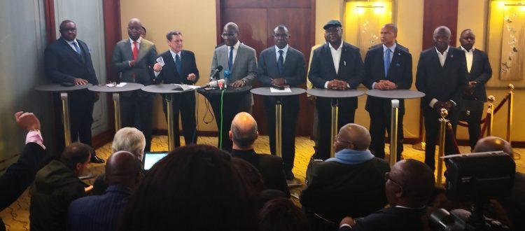 Accord de Genève: La Fondation Kofi Annan publie les lettres d'engagements des 7 leaders de l'opposition congolaise
