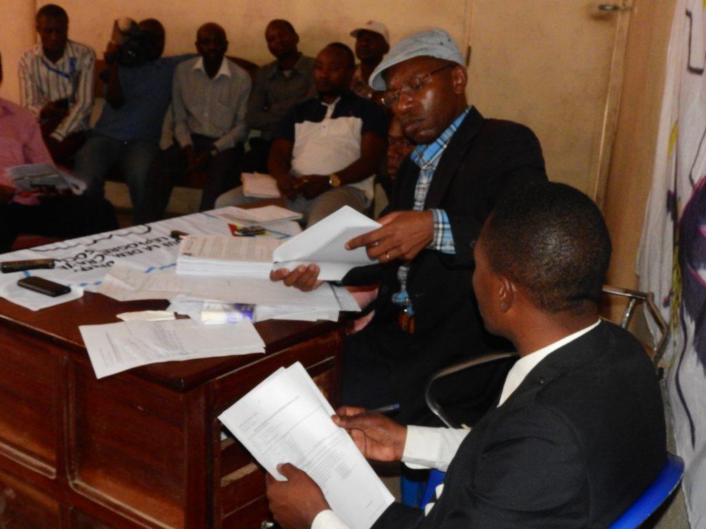 Bukavu: À l'Udps la machine à voter n'est qu'une simple imprimante (Deo Bizibu Balola).