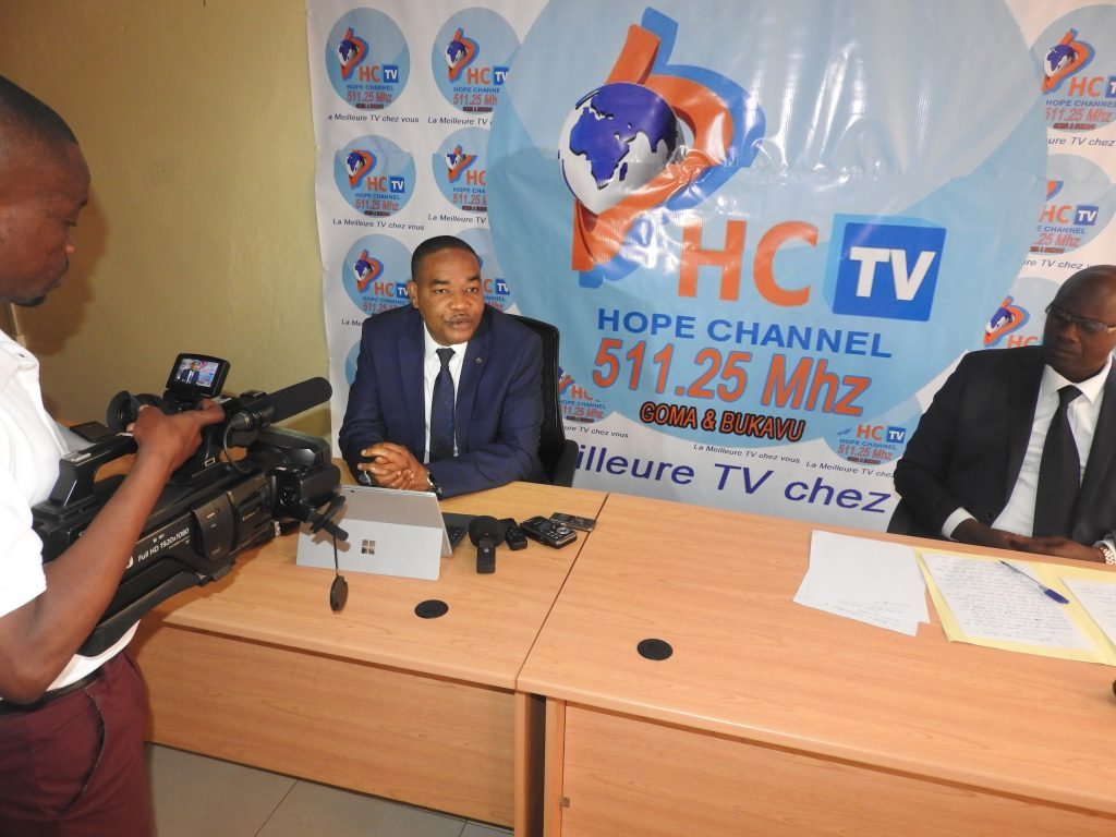 Médias: Hope Channel fait le pari de rendre la technicité et le professionnalisme aux médias du Sud-Kivu