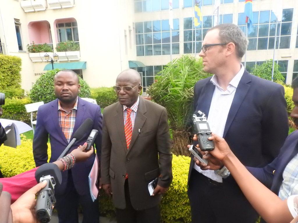 Bukavu: Mercy Corps annonce le démarrage de grands travaux de construction d'infrastructures d'eau