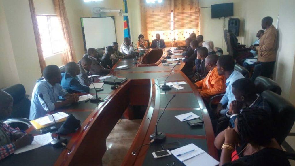 BUKAVU : Ministre Buchekabiri face aux responsables des médias sur les délits de presse