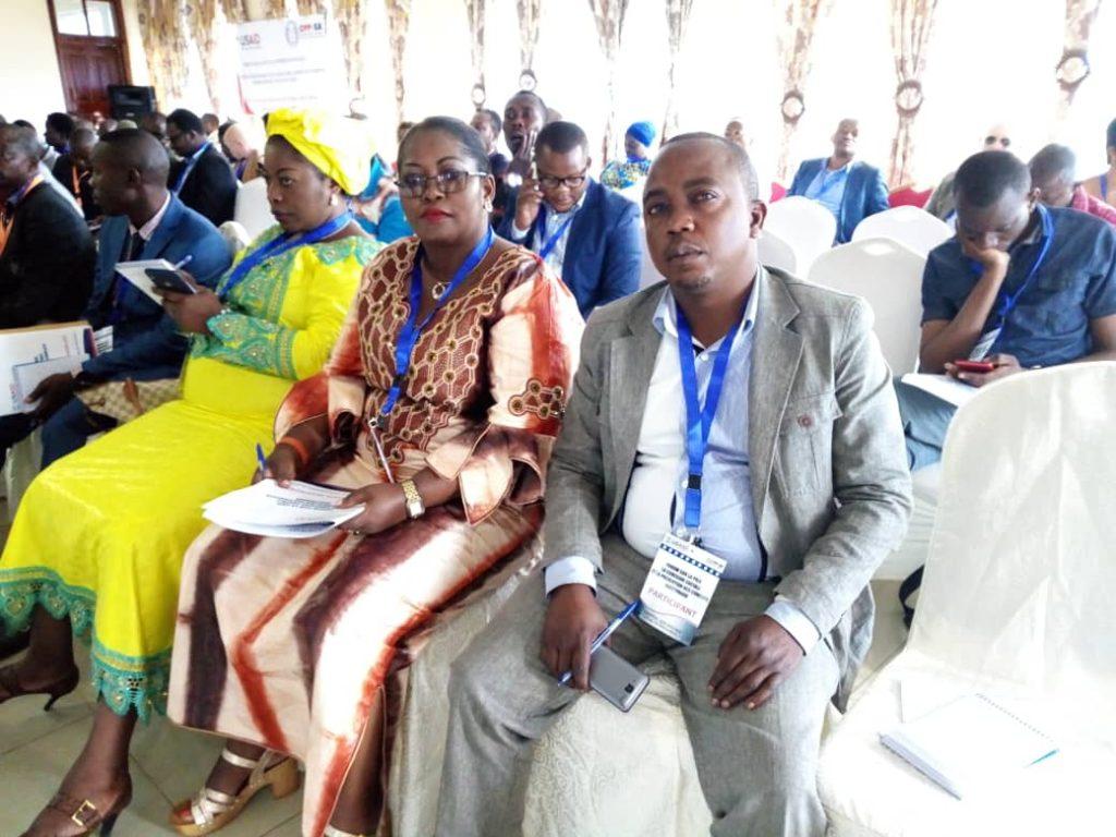 """Mme Nelly Lumbulumbu au forum sur la paix: """"J'ai recommandé aux organisateurs de renforcer des actions de plaidoyer pour régler les inégalités homme-femme"""""""