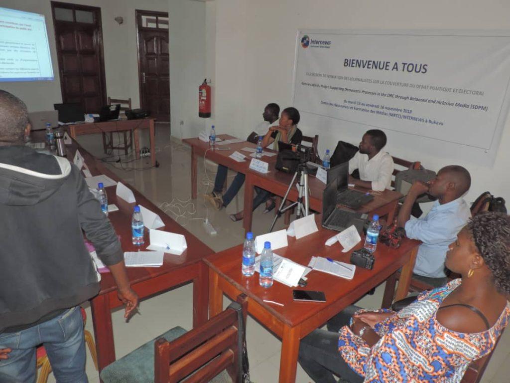 Bukavu: Les journalistes s'engagent au strict respect de l'éthique et de la deontologie sur la couverture du débat électoral et politique
