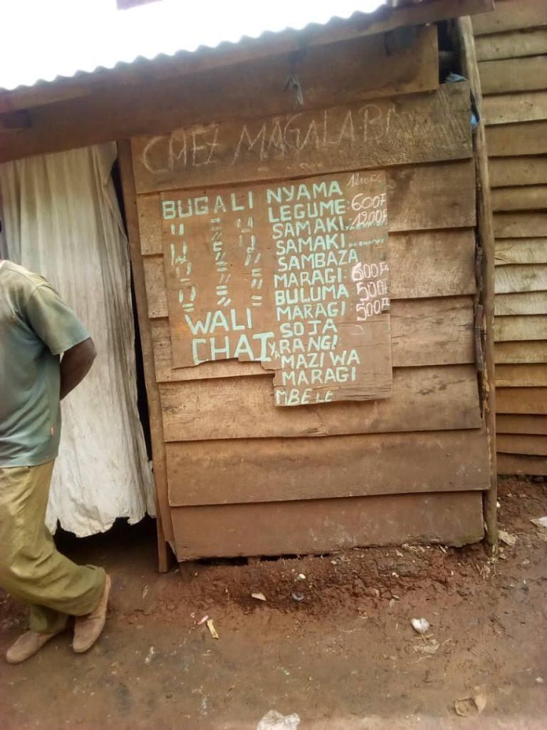 Bukavu: Des restaurants de fortune polluent le tronçon place de l'indépendance-Lycée Wima(Reportage)