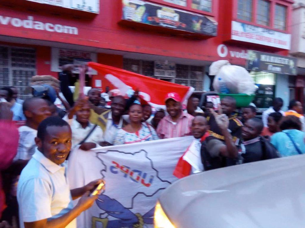 Bukavu: L' Unc et l'Udps célèbrent leur accord politique par une caravane motorisée ce samedi 24 novembre