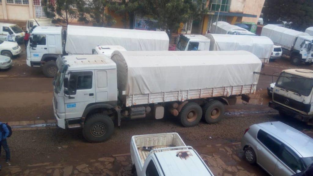Sud-Kivu: La Ceni réceptionne un lot d'isoloirs, urnes et flacons d'encres indélébiles
