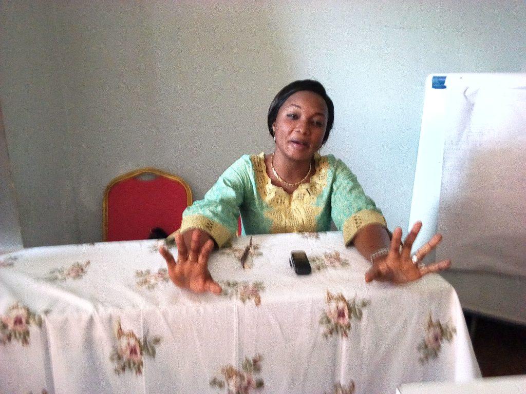 Elections 2018: Me Aline Bintu appelle les femmes à voter pour la femme