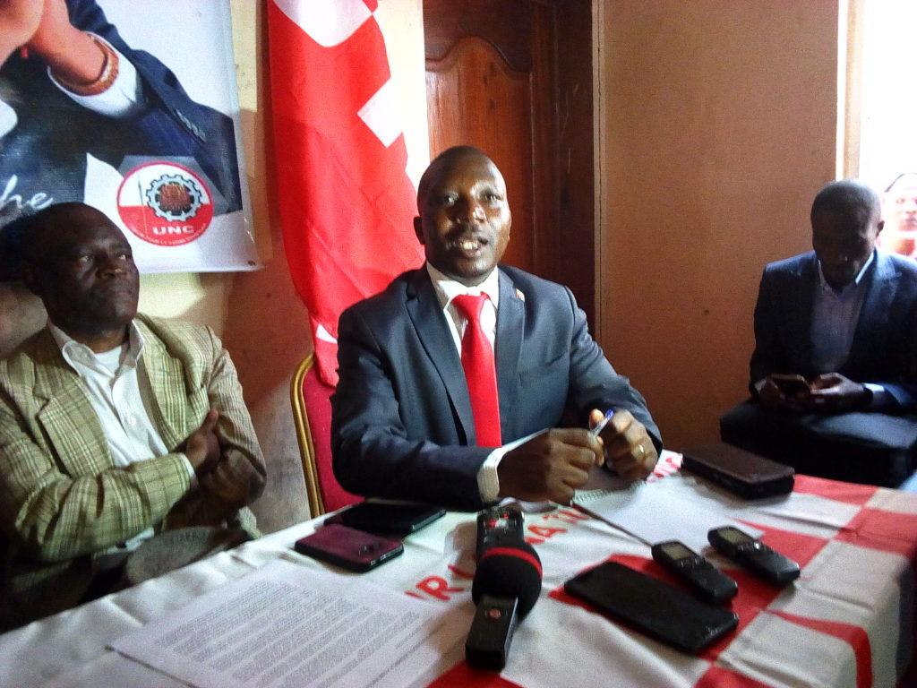 Bukavu: L'unc annonce officiellement la signature d'un accord de coalition avec l'Udps ce vendredi (Amato Bayubasire)
