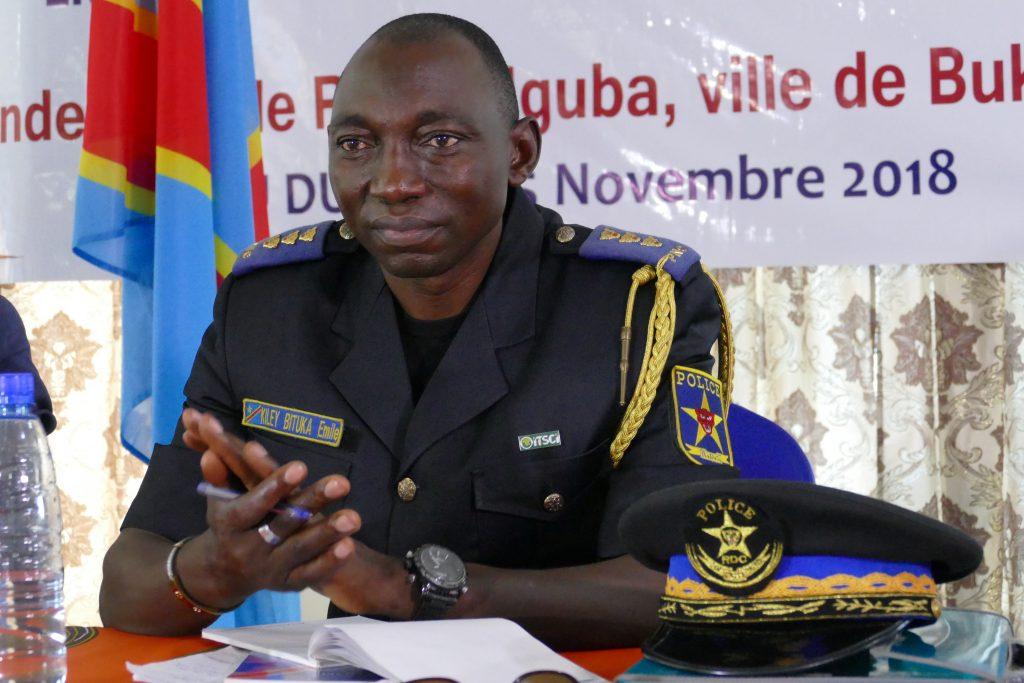 4 défis majeurs de la sécurité au Sud Kivu, selon le Colonel Bituka Emile