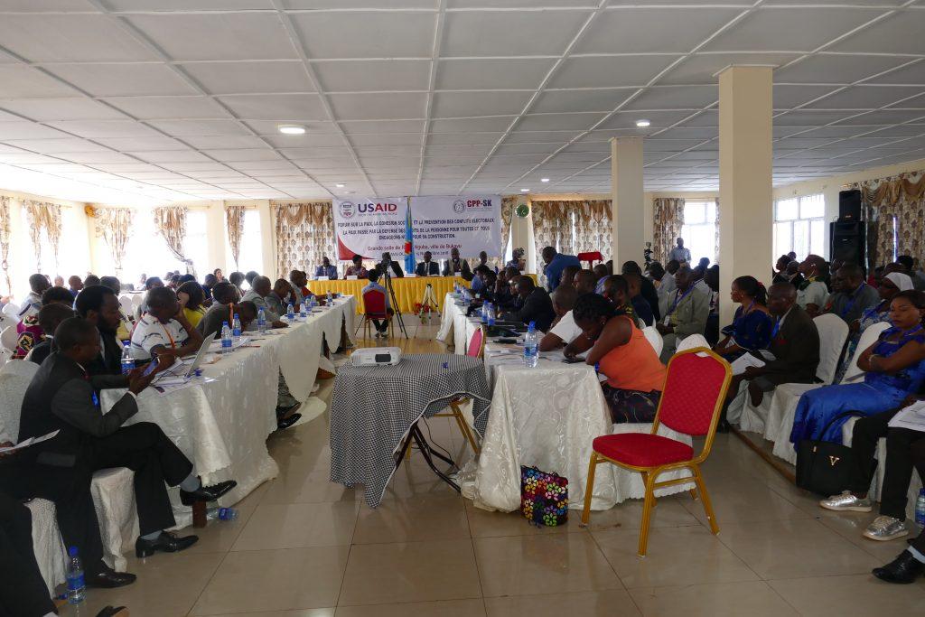 Bukavu : clôture du forum sur la paix, la cohésion sociale ce mercredi 15 Novembre