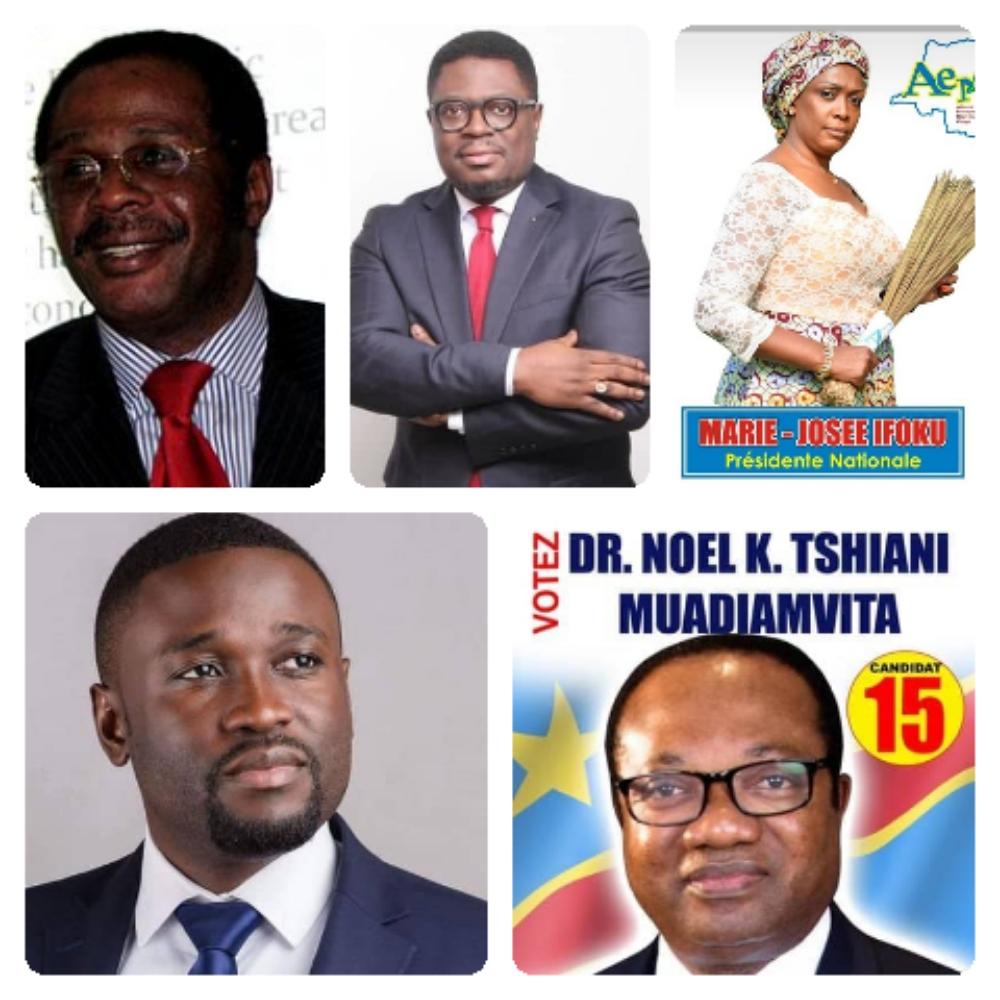 Présidentielle 2018 : Un nouveau bloc de 5 candidats se cherche un candidat commun à Kinshasa