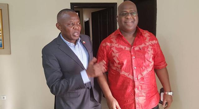 """Jean-Bertrand Ewanga: """" Du 7 au 10 novembre, nous saurons qui est le candidat commun parce que tout est déjà fait"""""""