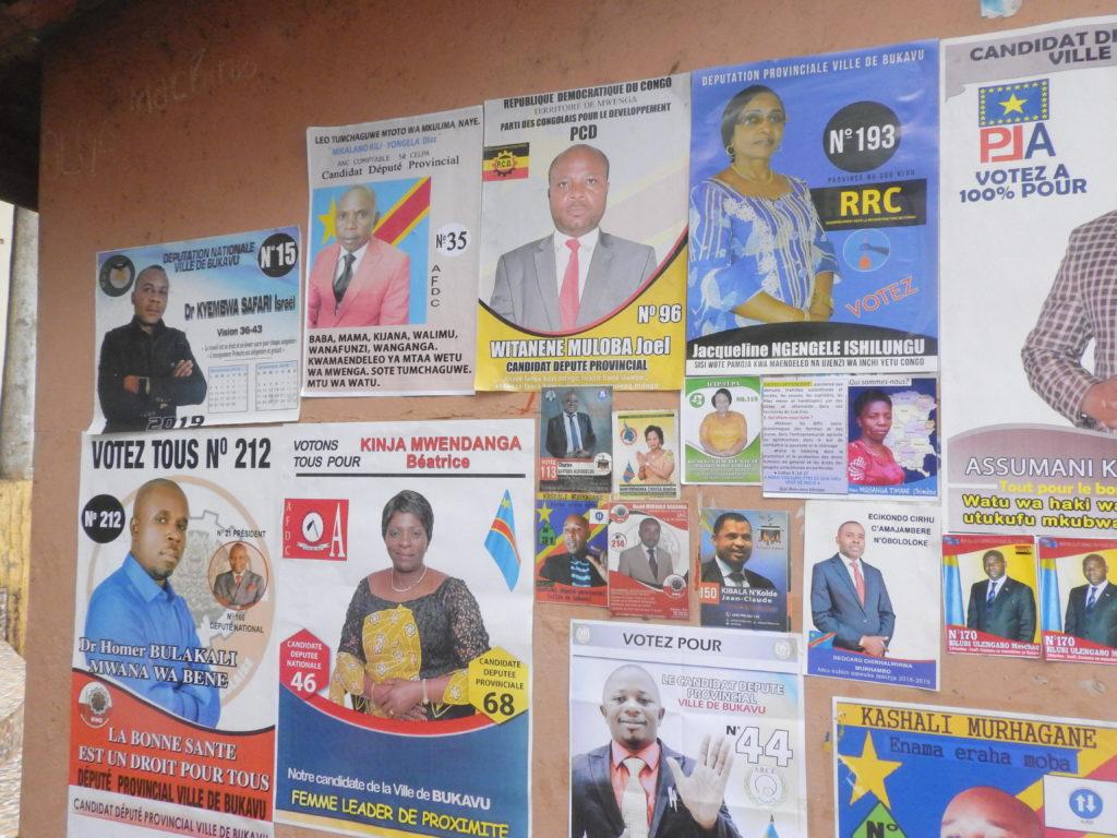 Elections 2018: Les avis sont partagés à Bukavu sur les candidats et leurs priorités