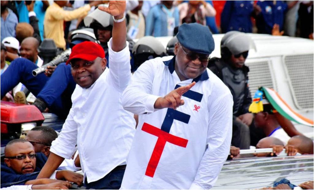 Présidentielle 2018: Félix Tshisekedi et Vital Kamerhe en meeting de campagne électorale au stade Afia de Goma cet après-midi