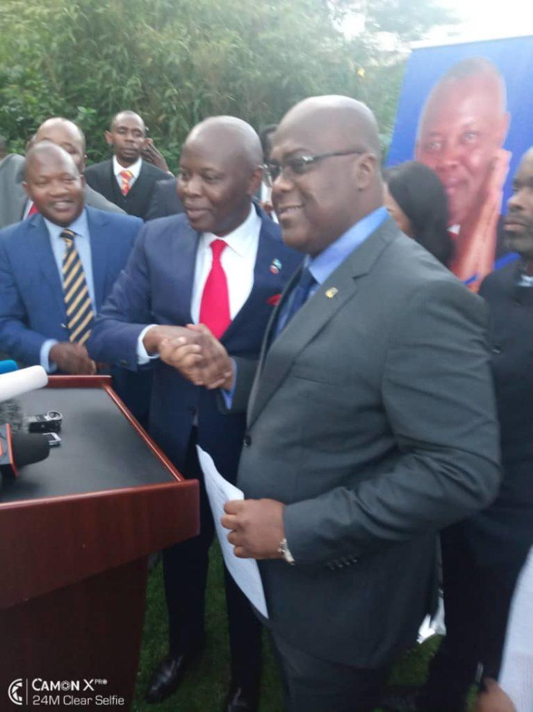 Présidentielle en Rdc: Vital Kamerhe et Félix Tshisekedi arrivent ce jeudi par Katana au nord de Bukavu