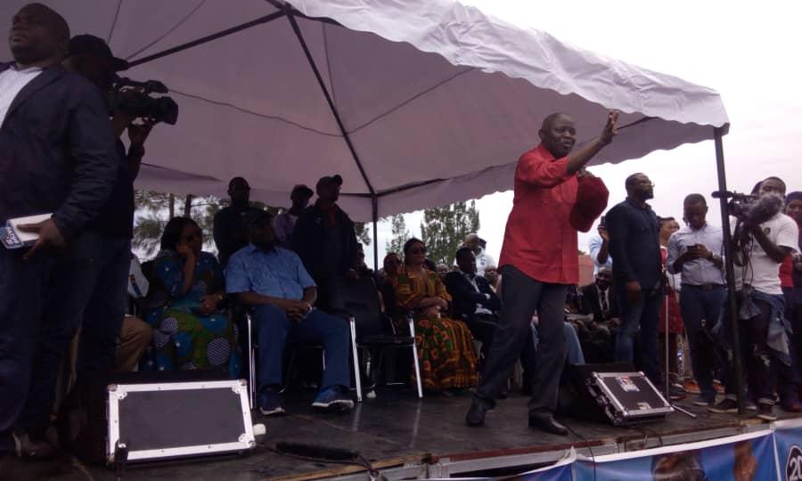 """Félix Tshisekedi aux Gomatraciens: """"Nous allons installer notre Quartier Général à Goma jusqu'à l'instauration de la paix"""""""