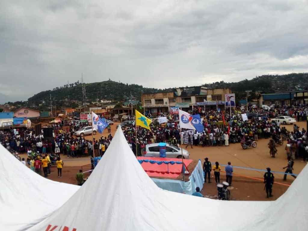 Présidentielle 2018: Enfin ! Martin Fayulu a débuté sa campagne électorale ce mercredi par Béni