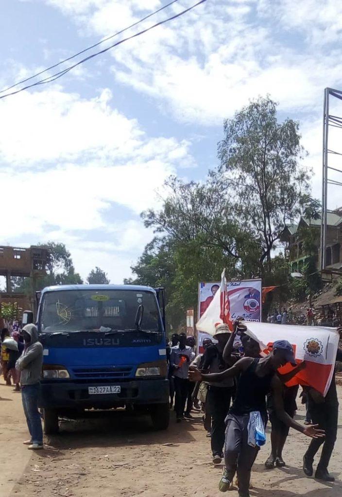 Arrivée de Kamerhe et Tshisekedi: Ce qu'a été la mobilisation dans la matinée à Bukavu ce jeudi
