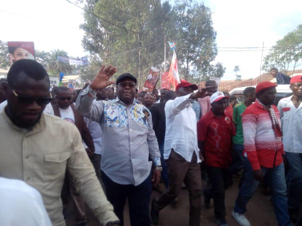 Campagne présidentielle: Vital Kamerhe et Félix Tshisekedi quittent Bukavu ce samedi matin pour Walungu