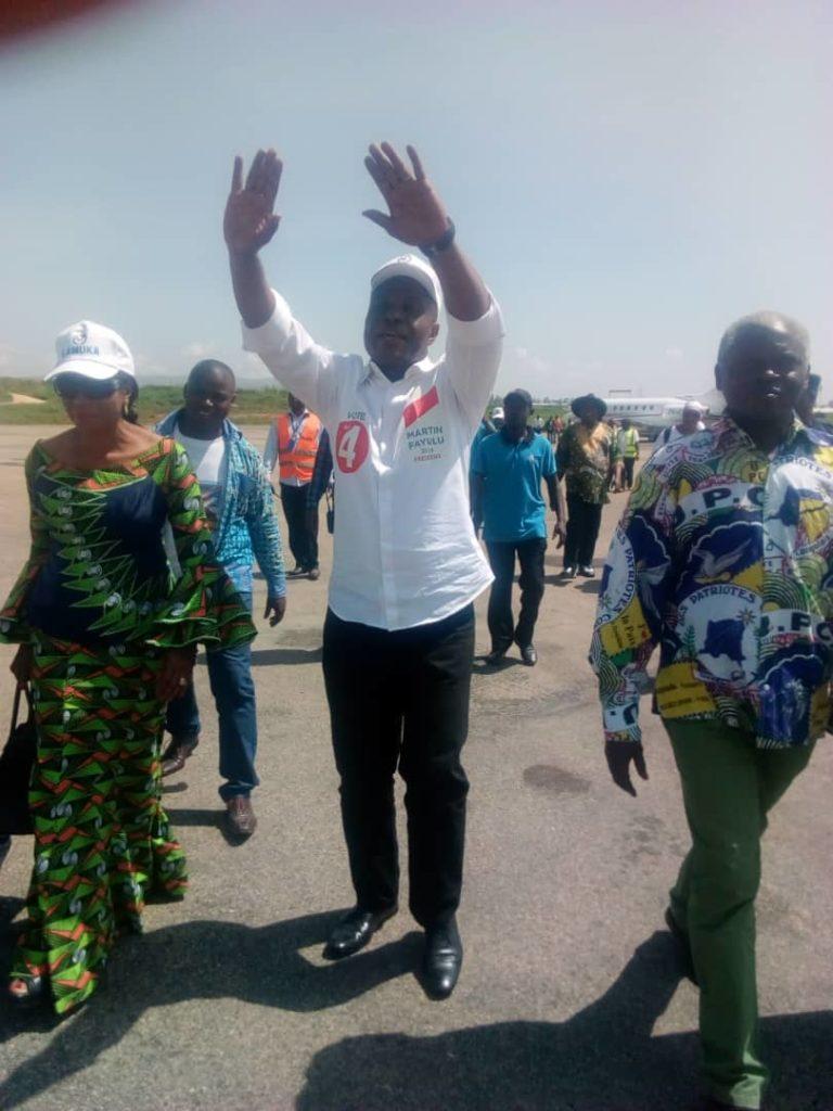 Campagne présidentielle en Rdc: Martin Fayulu attendu avec impatience à Bukavu le lundi prochain