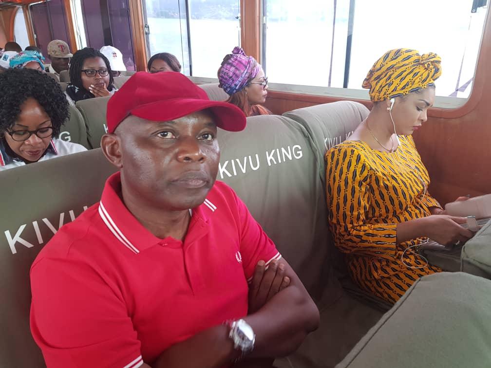 Présidentielle 2018: Exclusif ! Le voyage lacustre et l'arrivée du duo Tshisekedi-Kamerhe à Idjwi en images