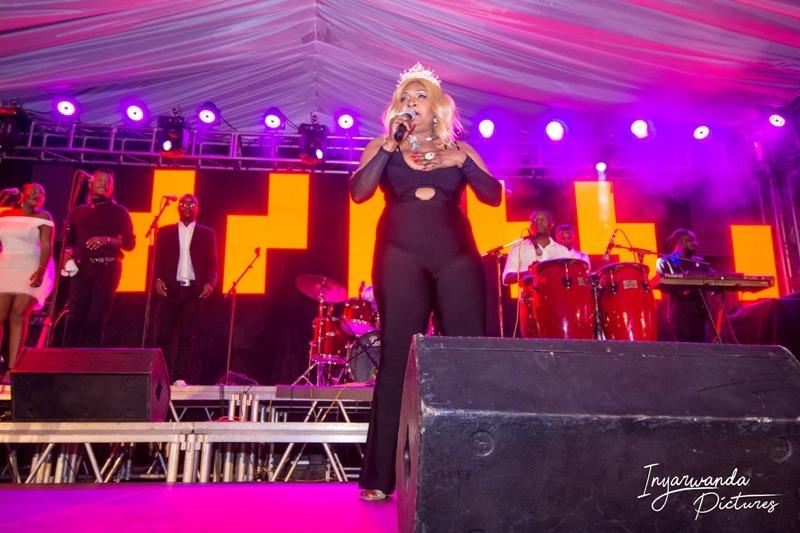 Kigali Jazz Junction:Exclusif! Mbilia-bel a vibré vendredi sur scène au rythme de la rumba congolaise