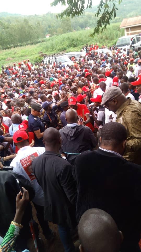 Campagne présidentielle : Exclusif! Tshisekedi a fini son meeting à Idjwi et prend la direction du territoire de Kabare