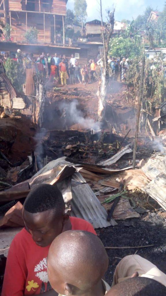 Bukavu : six morts dans un incendie survenu sur Avenue Maendeleo la nuit de ce mercredi 26 décembre.