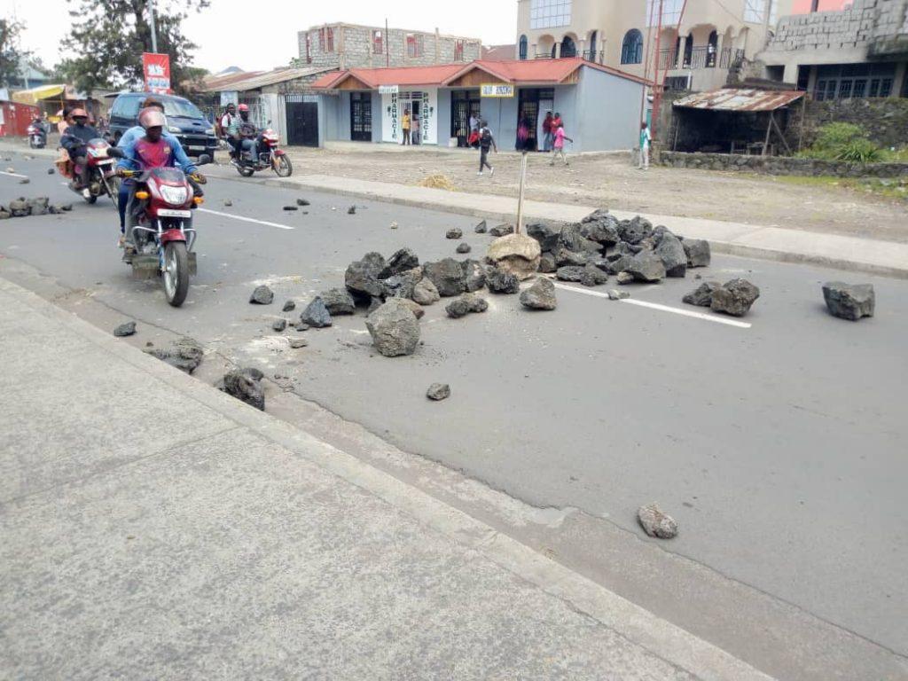 Goma:Accalmie après une vive tension ce vendredi matin